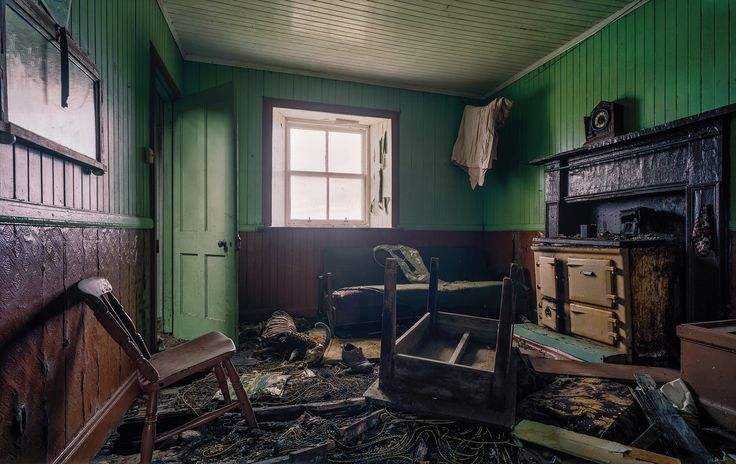 Ex-Buzzcocks drummer John Maher photographs abandoned crofts in the Outer Hebrides – complete with sheep skeletons, tin walls and Technicolor interiors