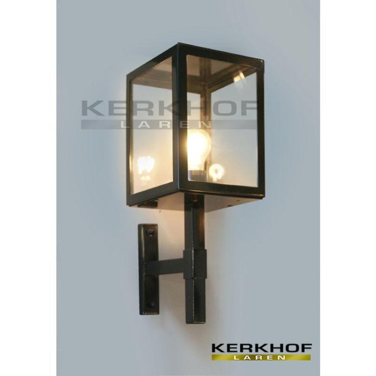 Sittard 2000 wandlamp, zwart