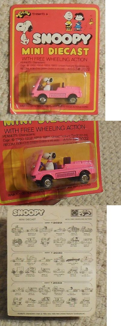Peanuts Gang 773: Snoopy Mini Diecast Snoopy In Land Rover Mosc New Aviva Vintage -> BUY IT NOW ONLY: $34.99 on eBay!