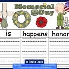 $ - Here are 3 graphic organizers to use when you are teaching about Memorial Day in May.   I gave you the  option of either printing in color or blac...