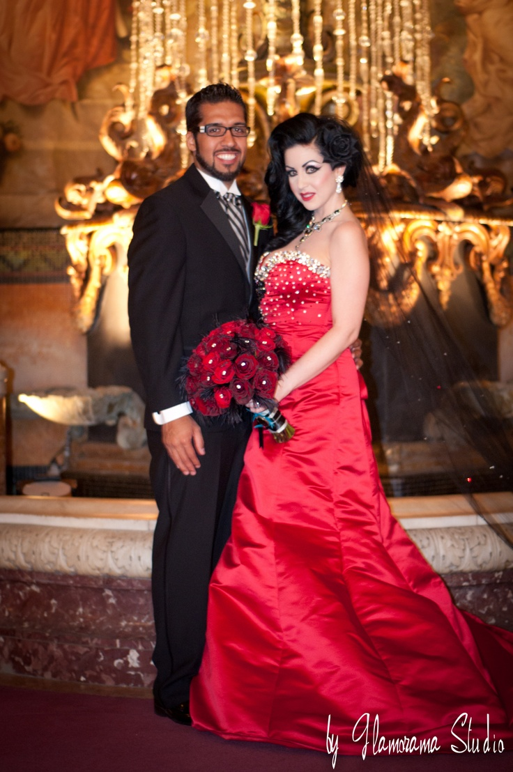 Sophia And Anthony Los Angeles Theater My Fair Wedding Unveiled Burlesque By Glamorama Studio Pinterest