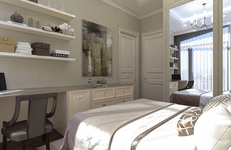 Дизайн апартаментов ЖК Balchug Residence. Ванная 3. Вид 1  #аркси #arxy #дизайнинтерьера #элитныйинтерьер #дизайнквартиры #спальня #дизайнспальни
