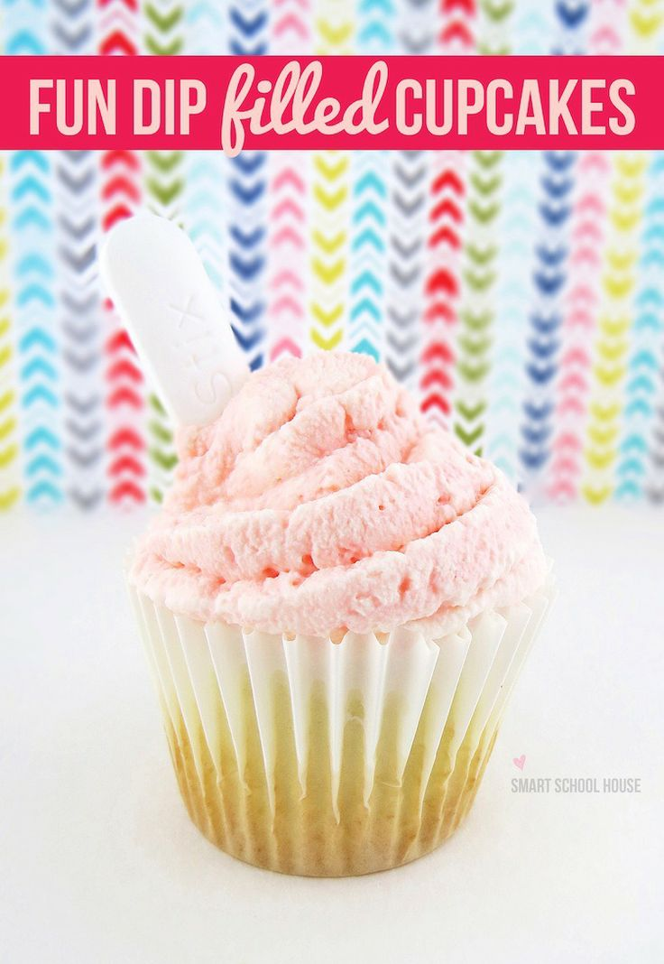Are your kids ready to freak out? Mine did! Who knew Fun Dip Cupcakes were such an easy DIY project? This sweet treat is like no other….  #cupcake #FunDip #DIY
