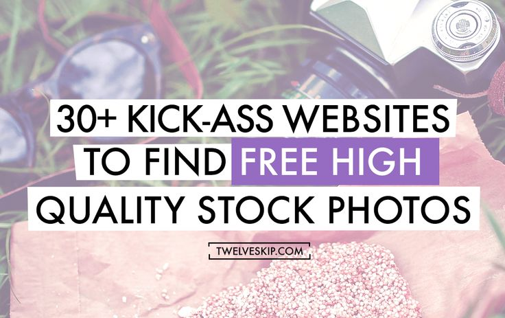 Looking for best free stock image sites? Here are the most awesome kick-ass websites to get stock photos for free.