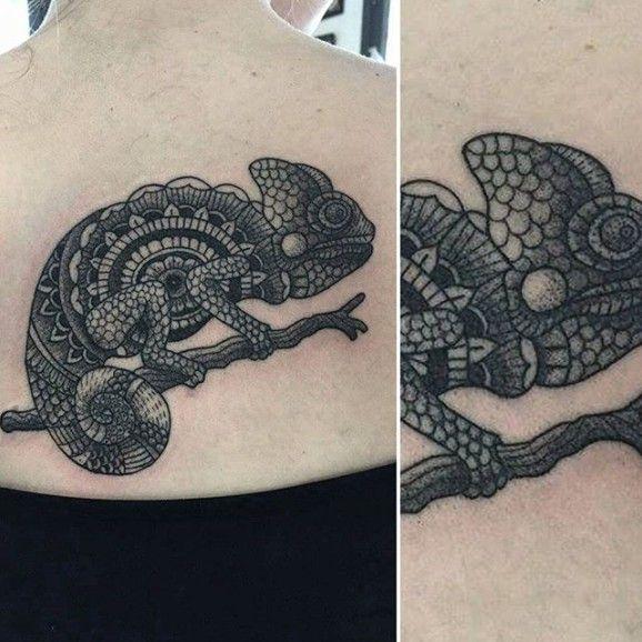 Crazy Chameleon Tattoo: 25+ Melhores Ideias De Tatuagem Camaleão No Pinterest
