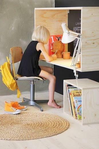 Regal Schreibtisch #praktisch