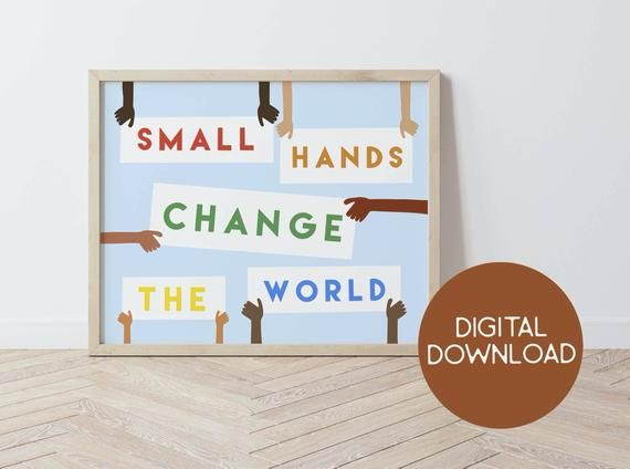 Change The World Diversity Wall Art Classroom Decor Kid Etsy In 2021 Art Classroom Decor Classroom Decor Art Wall Kids