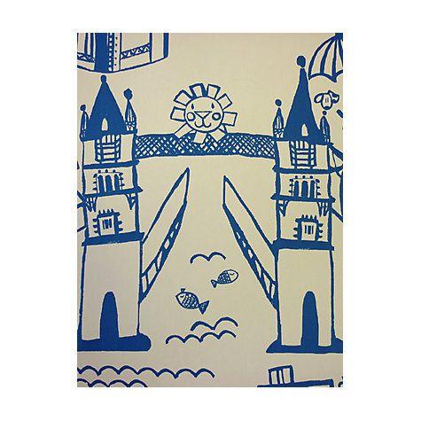 Buy Prestigious Textiles Panorama Cobalt Wallpaper Online At Johnlewis.com