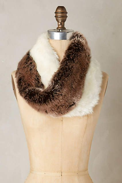 Marta Faux-Fur Cowl - anthropologie.com
