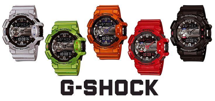 Découvrez les nouvelles montres connectées G-SHOCK G'MIX sur le blog de Monting
