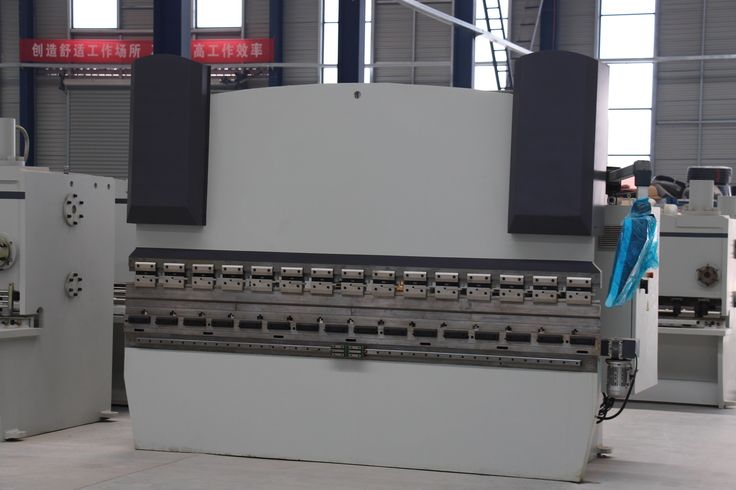 Hydraulic Press Brake Metal Plate Bending Machine with CNC High Precision Machinery for Sale--BAIWEI MACHINERY.  sales01@baiweilaser.com