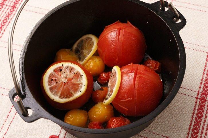 トマトのまるごとスチーム