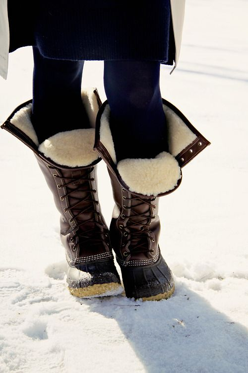 shearling-lined winter boots