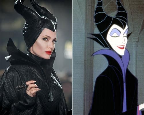 Sleeping Beauty and Maleficent movie comparison