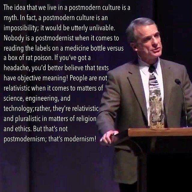 William Lane Craig on Postmodernism