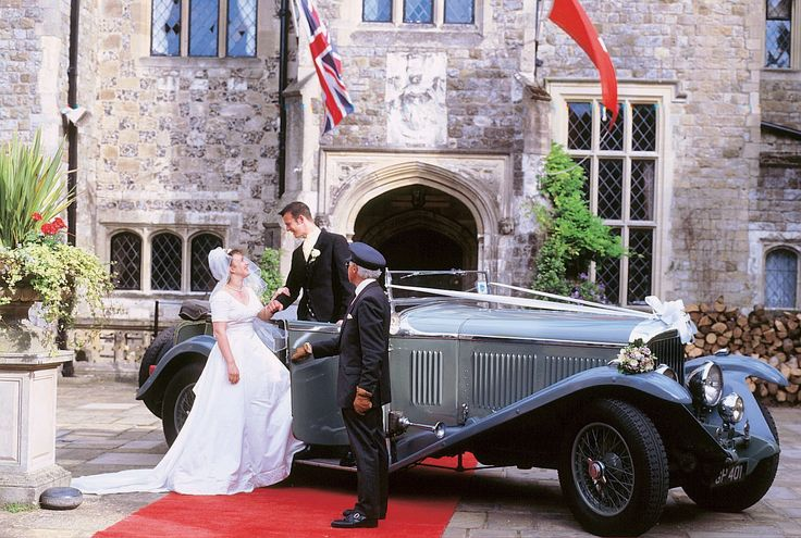 Wedding Car, Eastwell Manor