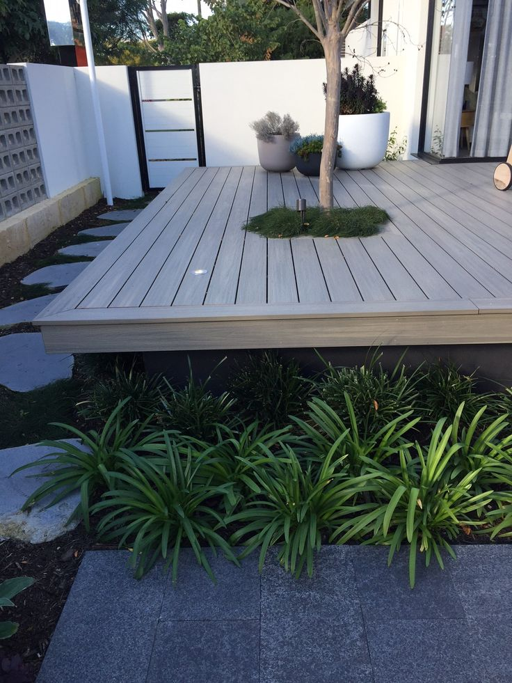 Display home - decking