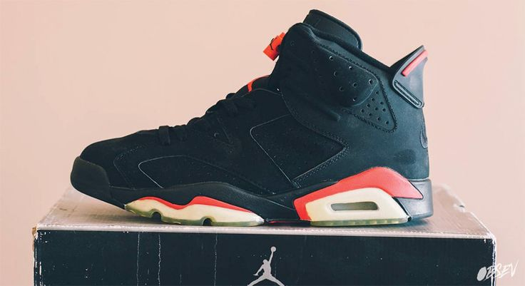 Air Jordan 6 Retro 2000 Release - Infrared