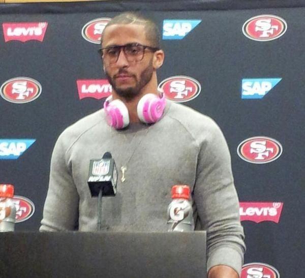 San Francisco 49ers Quarterback Fined $10k for Defying No Beats Headphones Rule - https://www.aivanet.com/2014/10/san-francisco-49ers-quarterback-fined-10k-for-defying-no-beats-headphones-rule/