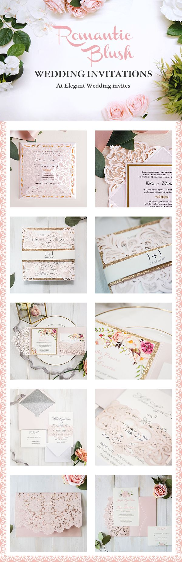 do i send wedding invitations to bridesmaids%0A Top    Most Popular Pink Wedding Invitations from EWI