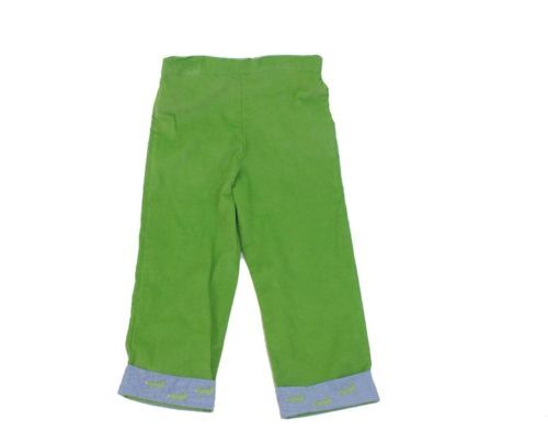 shrimp amp grits boys green winter alligator cuffed pants size 5 nwt