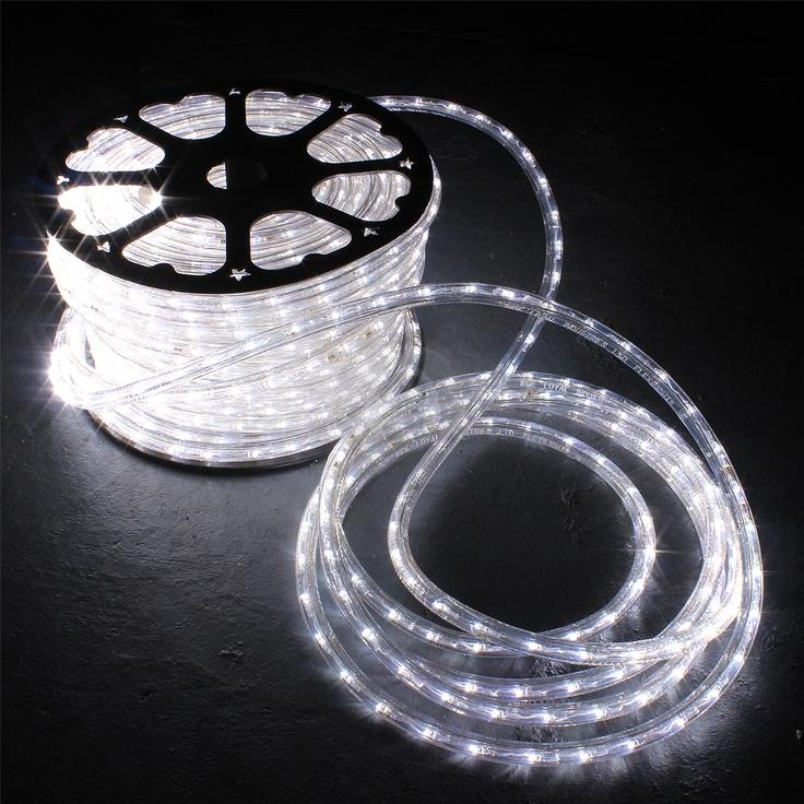 White LED Bulbs Rope