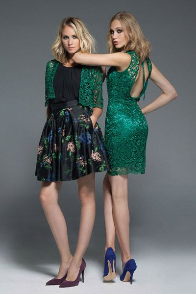 F/W 2014-15 Collection | Forel Collection _ Beautiful emerald lace