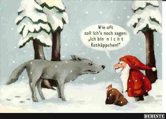 Ich bin nicht Rotkäppchen!! | DEBESTE.de, Lustige Bilder, Sprüche, Witze und Videos