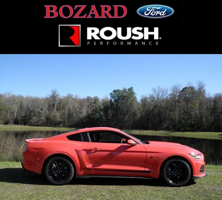 2015 ROUSH Mustang Competition Orange at Bozard Ford ROUSH