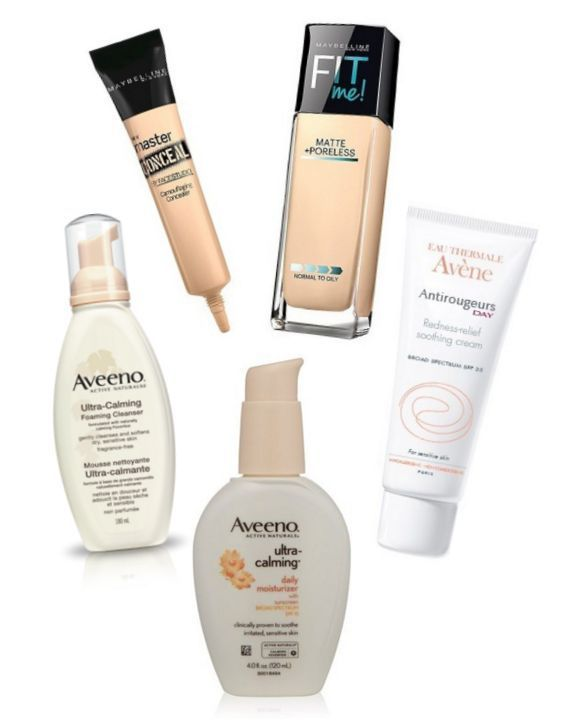 Best Drugstore Products For Rosacea And Redness Best Products Drugstore Best Drugstore Products Rosacea Skin Care Rosacea Acne Treatment