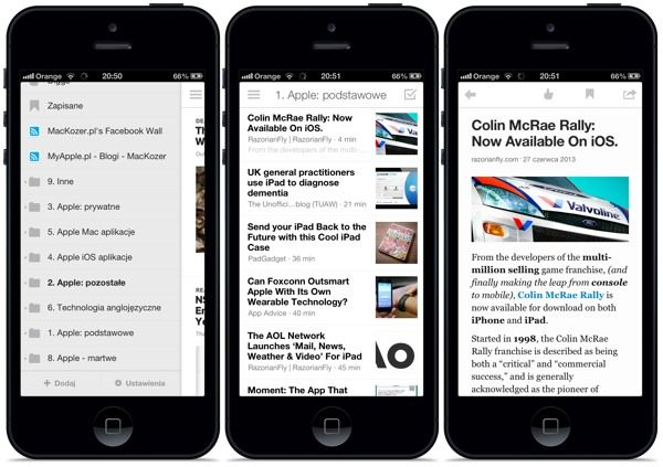 Co po Google Reader? Digg Reader dla iPhone'a i iPada http://myap.pl/eV