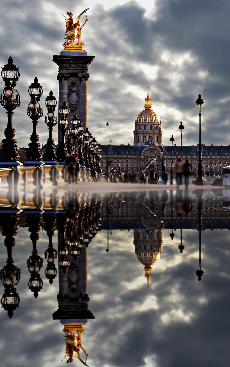 Reflections of Paris, France