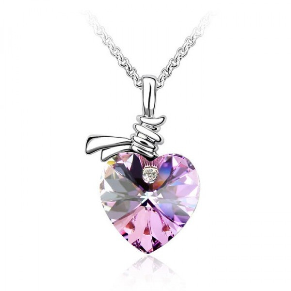 Listen to My Heartbeat Necklace with SWAROVSKI ELEMENTS #necklaces #jewelry