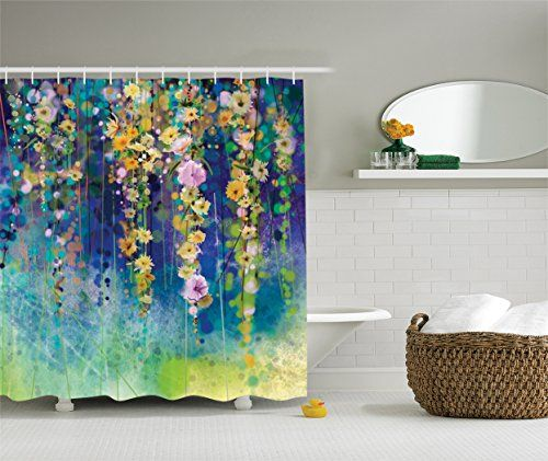 Superb Artistic Designer Shower Curtains For An Exceptional Bathroom Experience