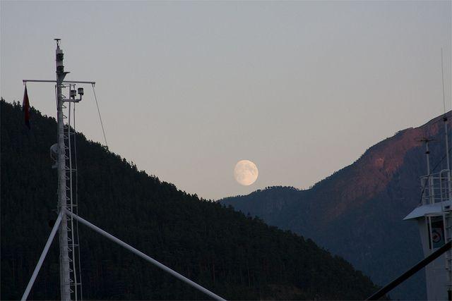 Big moon rising   Flickr - Photo Sharing!