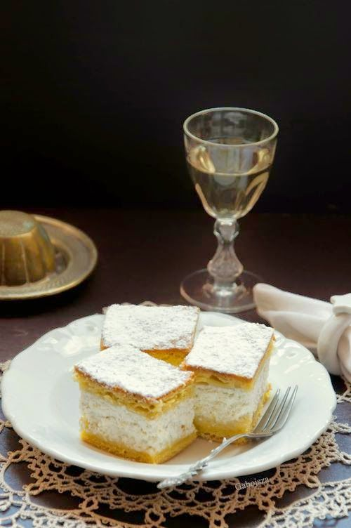 """""""Anya, ez isteni!..."""", avagy Gabojsza konyhája: Pehelykönnyű túrós pite"""