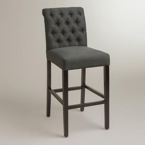 One of my favorite discoveries at WorldMarket.com: Gray Harper Barstool, Set of 2