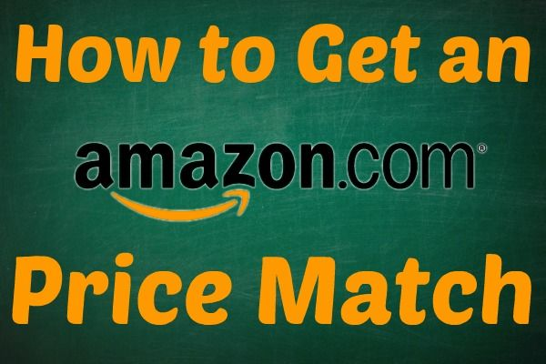 price match other stores and get things even cheaper with Amazon!