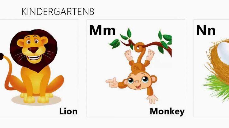 Alphabet chart from KINDERGARTEN8 @Google play & Windows store