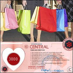 Hyderabad Central Mall Gift Voucher
