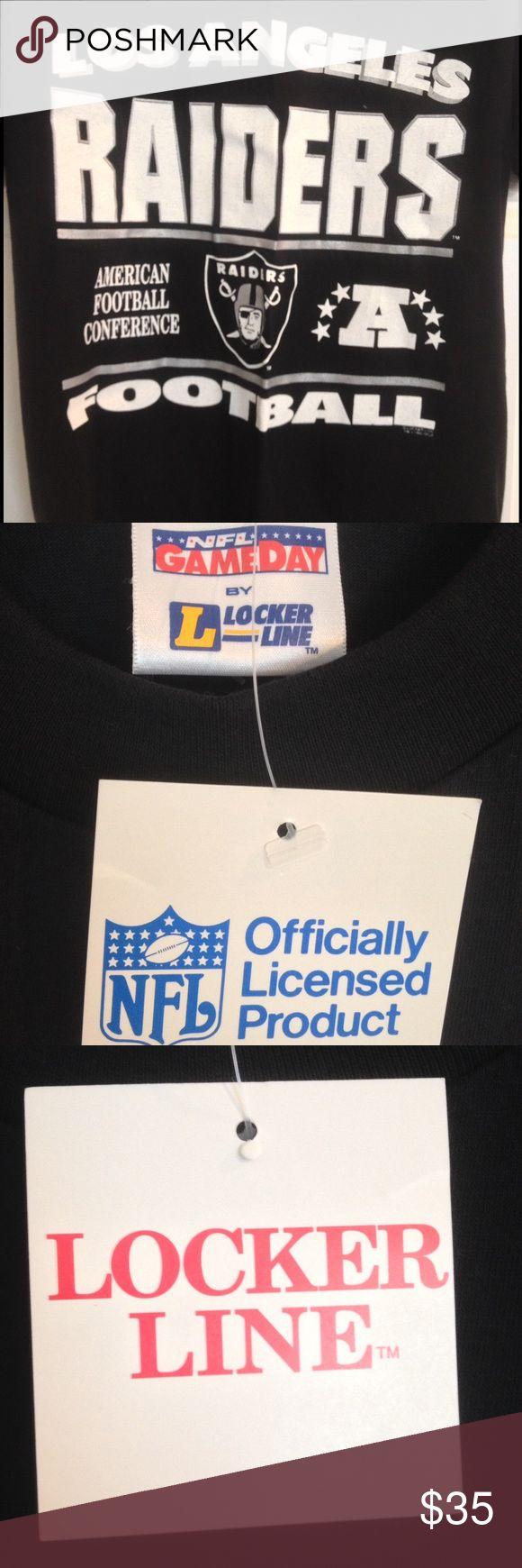 Selling this Vintage DEADSTOCK 1992 Los Angeles Raiders T-Shirt on Poshmark! My username is: addicted2attics. #shopmycloset #poshmark #fashion #shopping #style #forsale #Vintage #Other