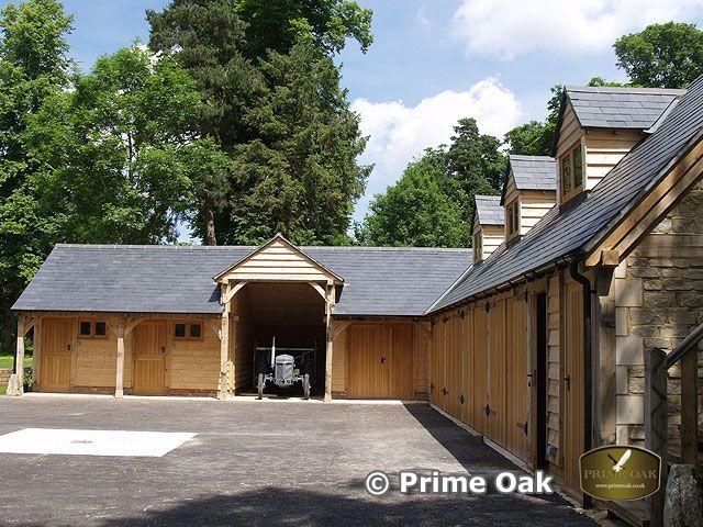 Prime Oak Buildings | Eiken bijgebouwen | Garages en carports 2