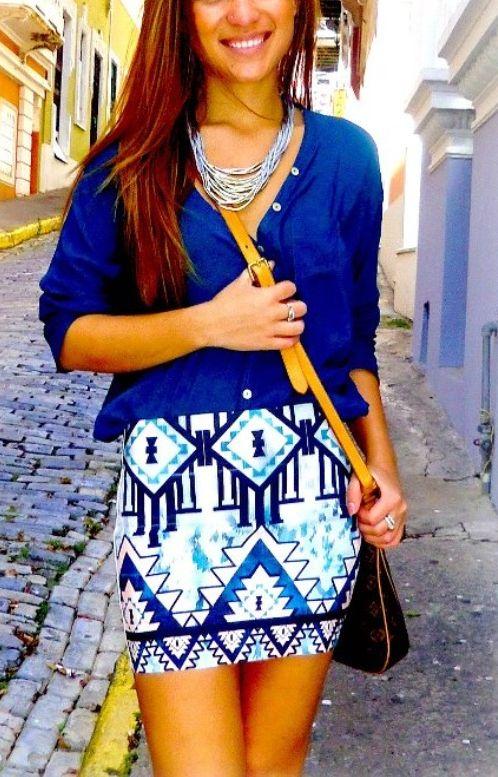 Aztlan Skirt on Chiq  $78.00 http://www.chiq.com/aztlan-skirt