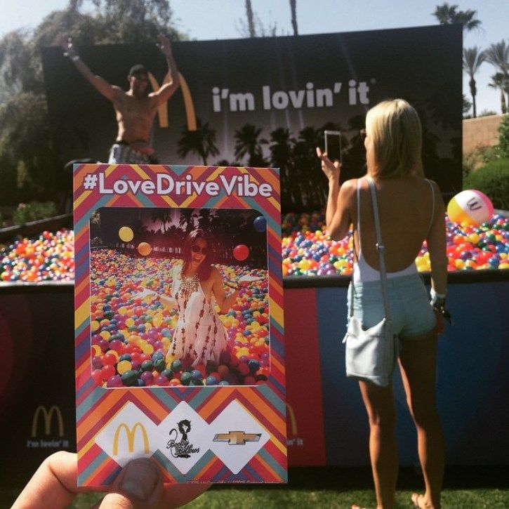 Great Experiential Marketing: Live brand activations at Coachella Festival 2015