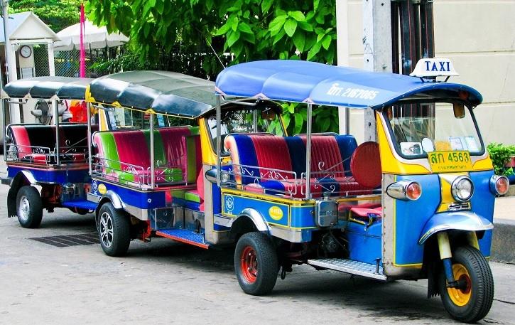 Tuk-tuks -- Car Rent Phuket
