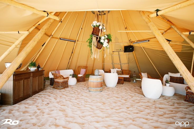 Tipi interior - THE ZEST GROUP WA - www.thezestgroupwa.com.au Photo by Russell Ord
