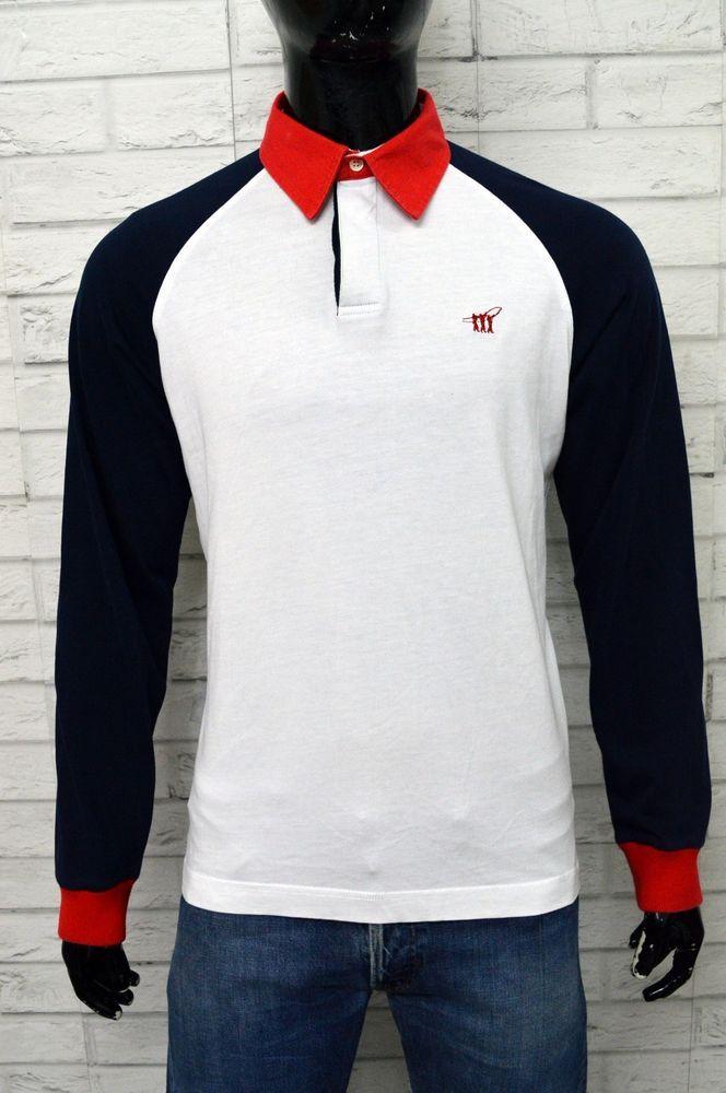 reputable site 949de 47a31 Polo HENRY COTTON'S Uomo Taglia Size L Maglia Camicia Shirt ...