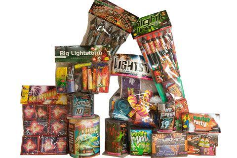Ghost Fighter Das Pyroland-Feuerwerk-Riesensortiment 2011 von Pyroland - Der Feuerwerk Shop