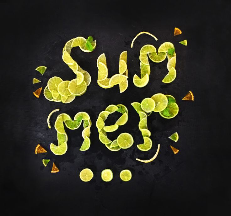 There's something fresh about Summer!