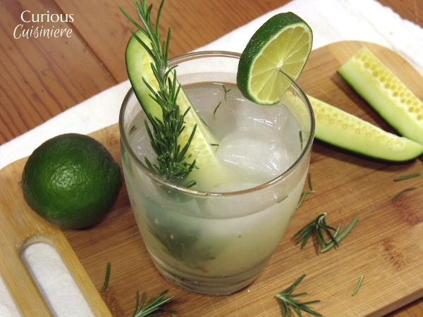Light and refreshing, this twist on the classic gimlet cocktail is a perfect way to celebrate summer!